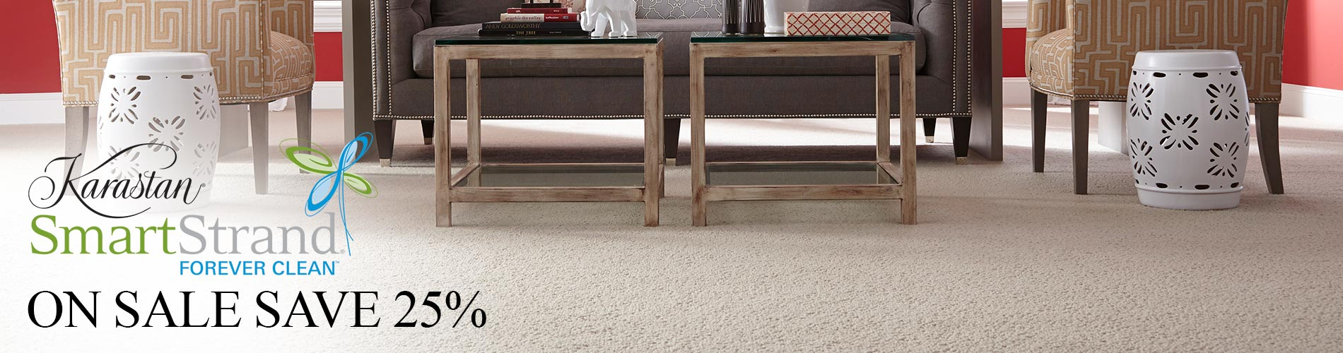 Karastan SmartStrand Forever Clean On Sale Now!  Save 25%!