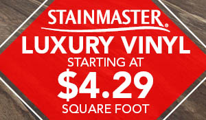 Stainmaster® Luxury Vinyl starting at $4.29 sq.ft. this month at Abbey Capitol Floors & Interiors in Olympia!