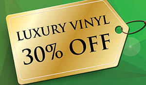 COREtec® luxury vinyl on sale 30% off!