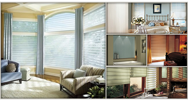 Beautiful new window fashions from Hunter Douglas.
