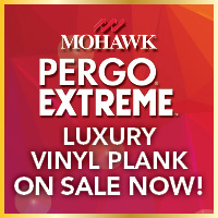 Mohawk Pergo Extreme luxury vinyl plank on sale now