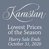 National Karastan Month Sale. Lowest prices of the season.